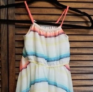 H & M lined summer dress